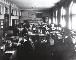 文科大学時代の史料編纂掛(1903年)